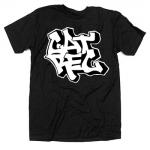 cat rec vintage black t shirt