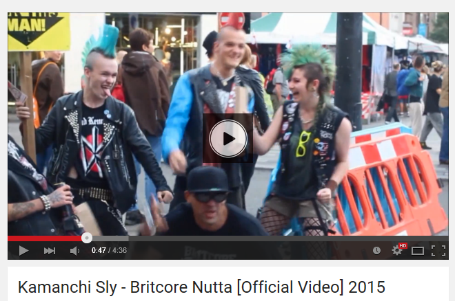 britcore punk video shot