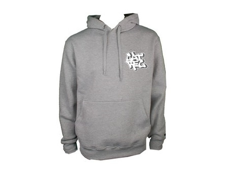 cat rec hoodie grey
