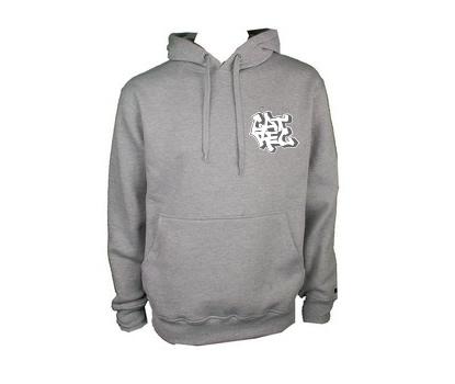 cat rec hoodie grey slide
