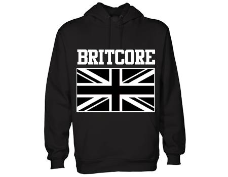 britcore hoodie blk