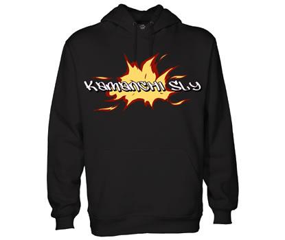 skslyflameblack slide show_black_hoodie415_350